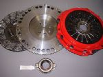 AUDI A2 1.4 TDI 2003-2005 HEAVY DUTY CARBON KEVLAR CLUTCH & FLYWHEEL